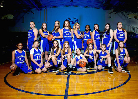 2018-19 Girls Basketball Team Photo
