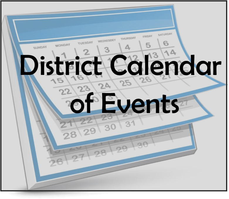 District Calendar of Events