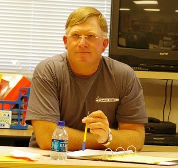 Denny Carver, School Board President