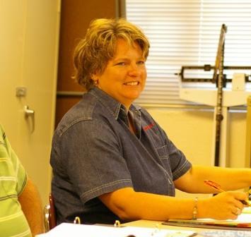 Polly Pierson, School Board Secretary