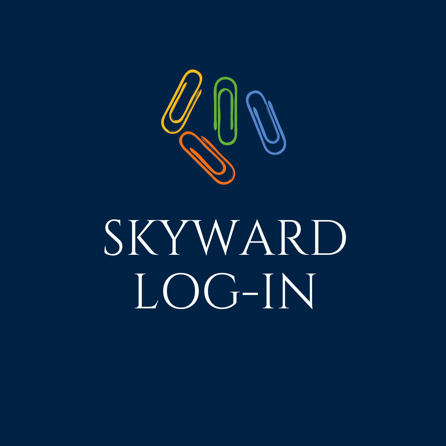 Skyward Log-in