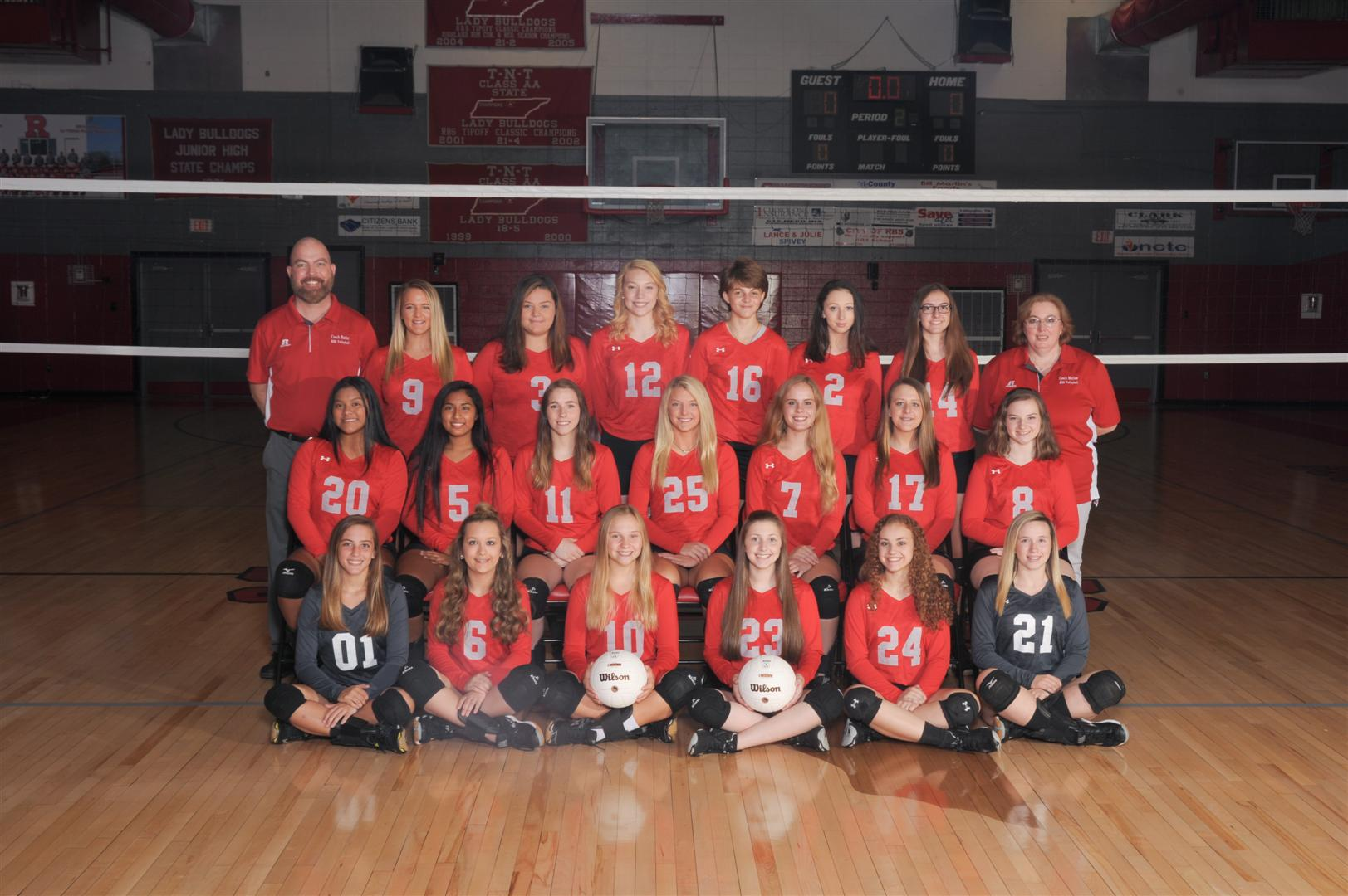 2018-2019 High School Volleyball Picture