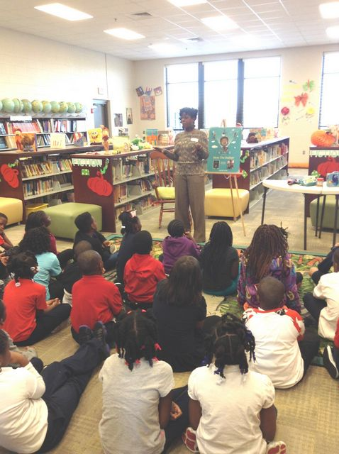 New School Academic Calendar >> Charles F. Hard Elementary: Highlights - Author's Visit