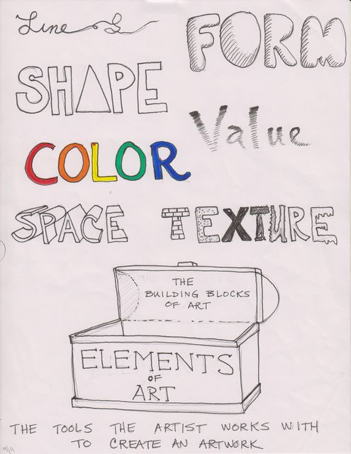What Are The Seven Elements Of Art : Elements of art value imgkid the image kid