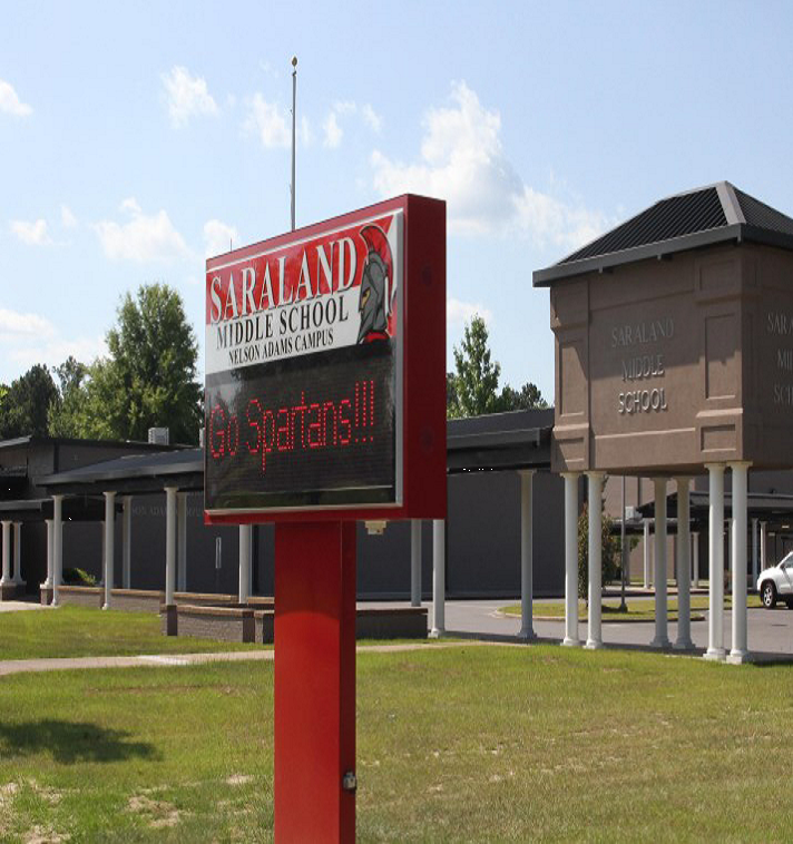 Saraland Elementary School: Saraland Middle School/Nelson Adams Campus: Latest News