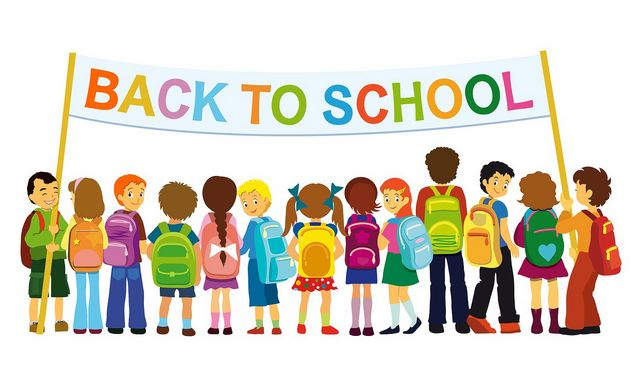 Announcement Image for 1st Day of School