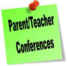 Announcement Image for Parent/Teacher Conference 8/31/21