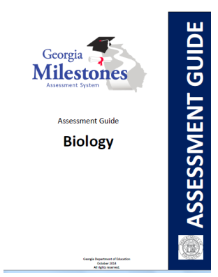 "Announcement Image for Biology ""MILESTONES"" (End of Course Test) Information"