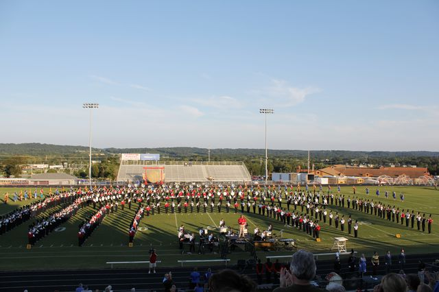 Lakeview-Fort Oglethorpe High: Latest News - 2013 Catoosa County Marching  Exhibition A Success