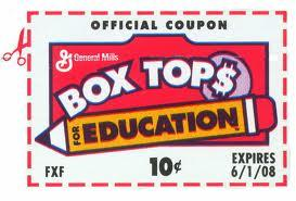 Announcement Image for Box Tops for Education