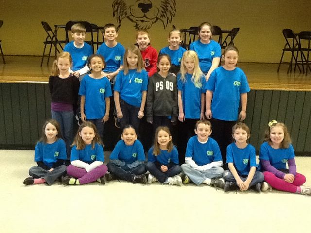 Carnesville Elementary Primary Highlights January Students Of The Month