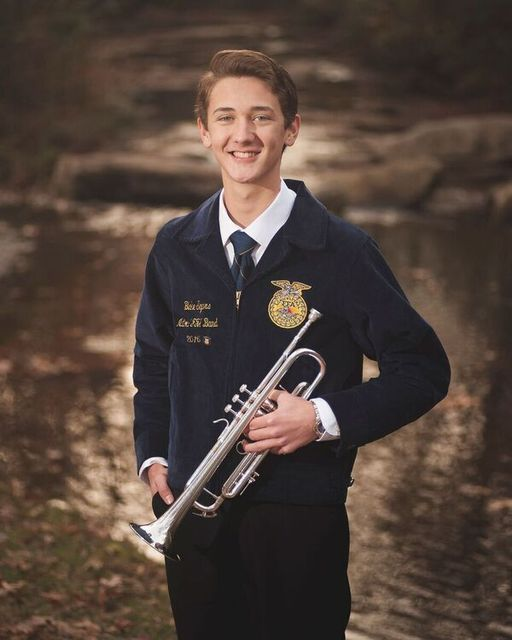 National FFA Band Blake Segars