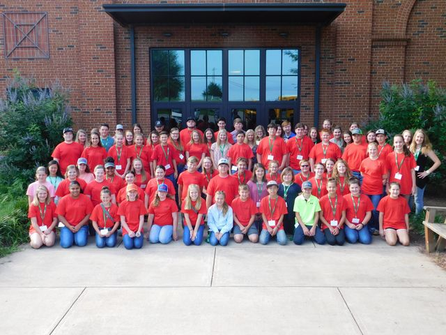 Nearly 80 FFA and 4H members from accross the state of Georgia attended the UGA LIvestock Judging Camp