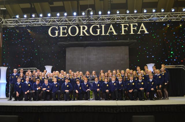 Franklin County FFA Members at the 89th Georgia State FFA Convention