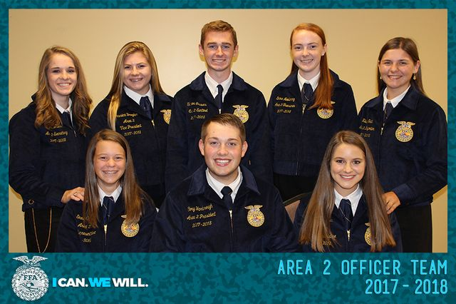 Area 2 Officer Team