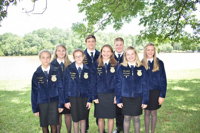The FCMS Officer Team will compete at the National Convention as one of the Top 4 middle school chapters in the nation in the Models of Excellence Competition.