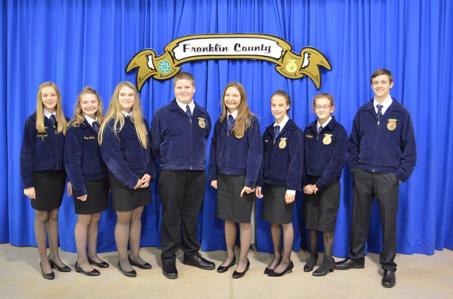 2017-2018  FCMS FFA Officer Team