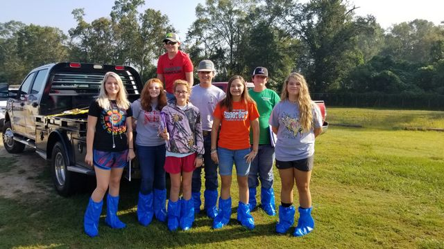 FC FFA Members attend Statewide Livestock Judging Training