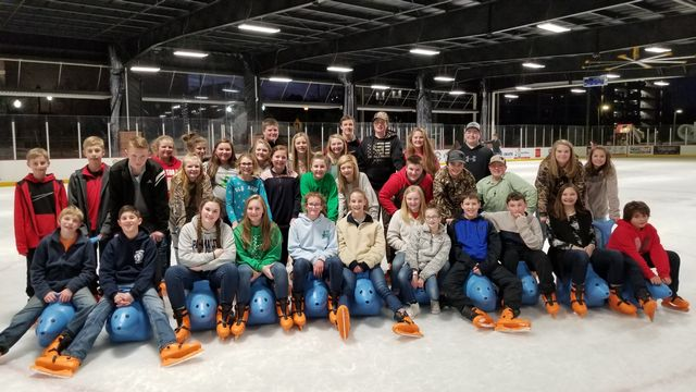 FCMS FFA members traveled to Athens on Ice