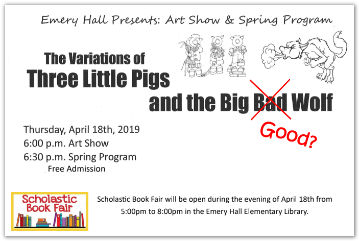 Emery Hall Art Show and Spring Program