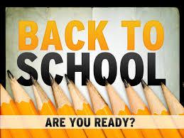 Announcement Image for Back to School 1st Semester 2018 - 2019