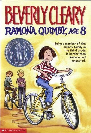 Announcement Image for Ramona Quimby Age 8: August First Lady Red 20 Book Club Selection