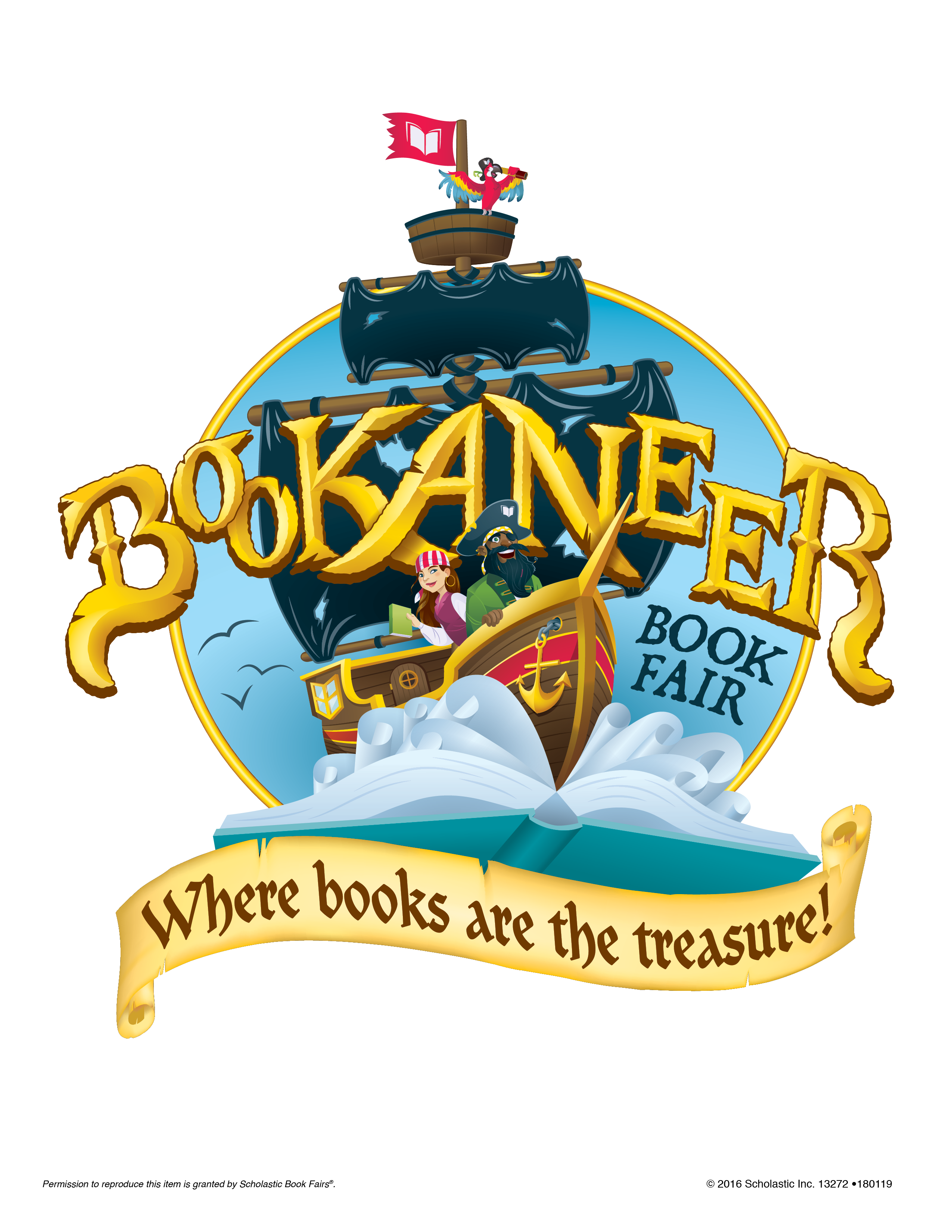 Announcement Image for Book Fair Sept. 26-30 and online, too!