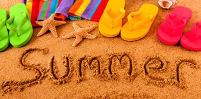 Announcement Image for Summer Break