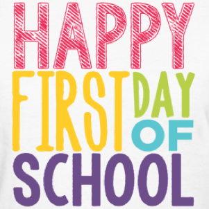 Announcement Image for First Day of School