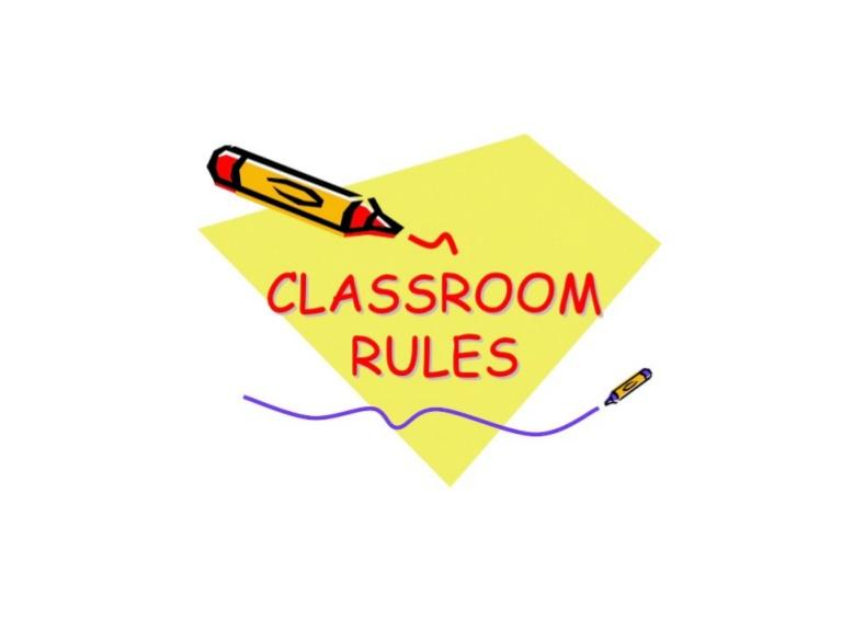 Other Class Info Image for Classroom Rules