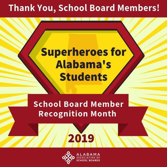 School Board Member Thank You