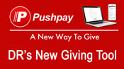 **NEW ** PUSHPAY Online Giving