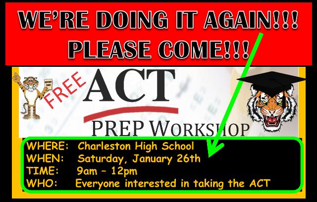 ACT Workshop 1/26/2019