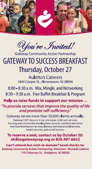 Join Us Oct. 27 For Breakfast!