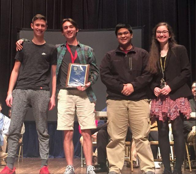 PCHS - Quiz Bowl Team Won 1st Place