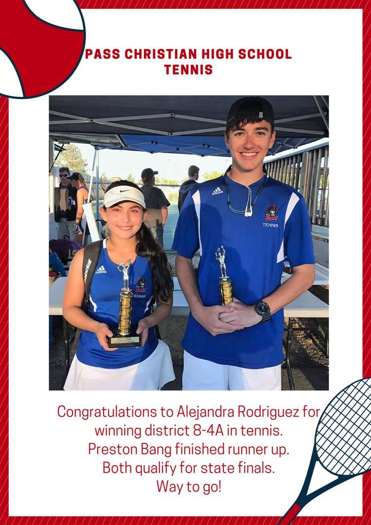 2017 PCHS Tennis