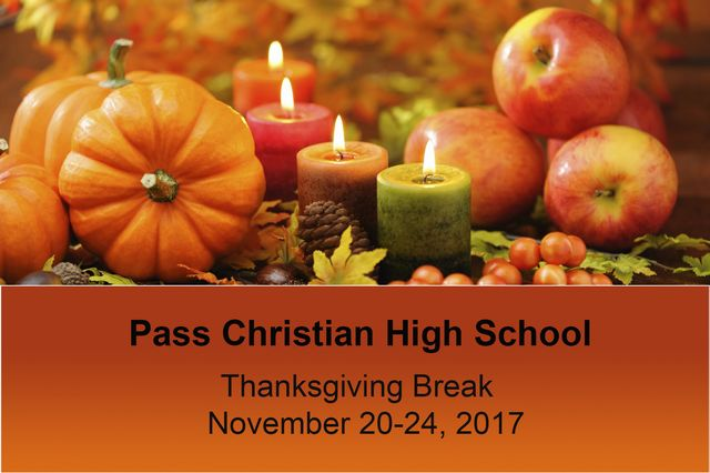 2017 Thanksgiving Break