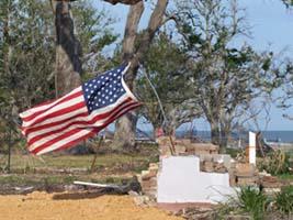 Pass Christian after hurricane