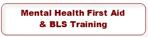 Youth Mental Health First Aid & BLS Trainings