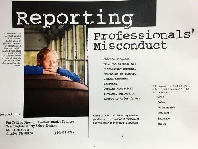 Report Professionals' Misconduct