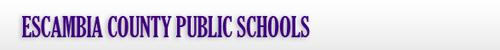 Escambia County Schools banner