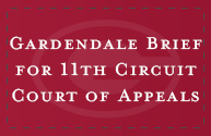 Gardendale Brief for 11th Circuit Court of Appeals