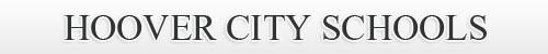 Hoover City Schools banner