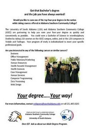 Your Degree...Your Way