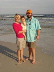 Reagan's First Beach Trip