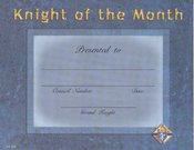 Image for Knight of the Month