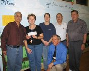 Knights Charles Blanchard, Louis J. Muro and Gaeton Conte Deliver Proceeds to Crumly Chapel Elementary