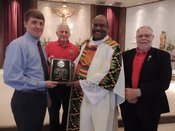 2017 - 2018 Knight of the Year Father Vernon Huguley