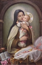 <B>The Child of Jesus with the Child Jesus<B/>