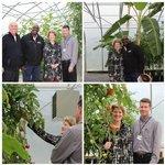 View Bancroft President Visits Mill Creek Urban Farm